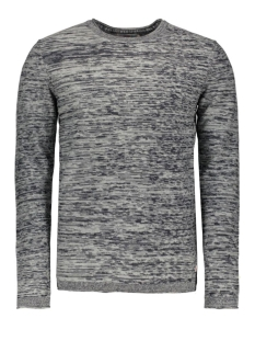 JORARGO KNIT CREW NECK 12113410 Light grey melange