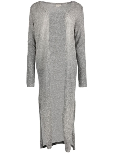 VMNUELLA LS LONG SLIT CARDIGAN LOC 10156927 Medium Grey Melange