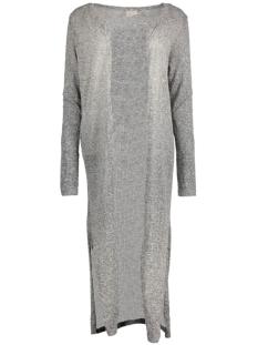 Vero Moda Vest VMNUELLA LS LONG SLIT CARDIGAN LOC 10156927 Medium Grey Melange