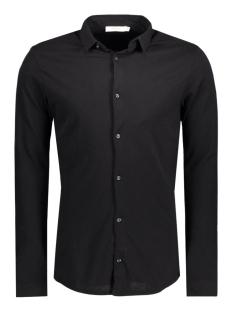 Jack & Jones Overhemd JPRTWO PIQUE SHIRT LS 12114548 Black/Slim Fit
