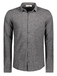 Jack & Jones Overhemd JPRTWO PIQUE SHIRT LS 12114548 Dark Grey Melange