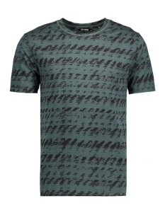 Only & Sons T-shirt onsAZIG AOP FITTED TEE 22004828 Green Gables