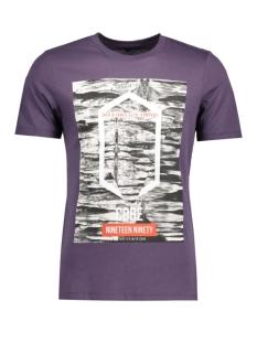 Jack & Jones T-shirt JCOFRANK TEE SS CREW NECK 12113472 Nightshade