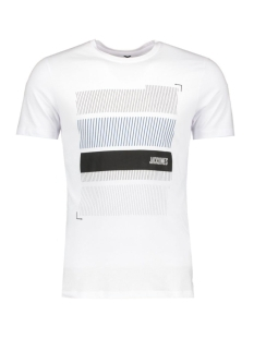 JCOBOOSTER TEE SS CREW NECK 12 12123182 White/Blocks