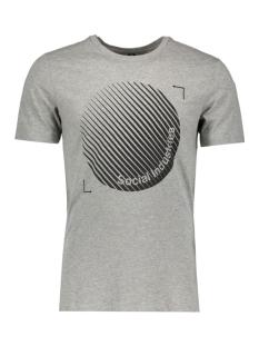 Jack & Jones T-shirt JCOBOOSTER TEE SS CREW NECK 12 12123182 Light Grey Melange