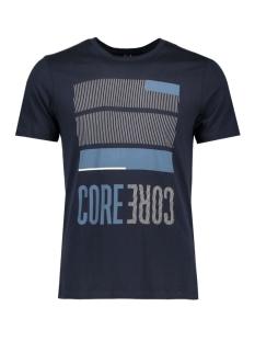 Jack & Jones T-shirt JCOBOOSTER TEE SS CREW NECK 12 12123182 Sky Captain