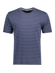onsPOULPER FITTED FISHTALE TEE 22005098 Dress Blues