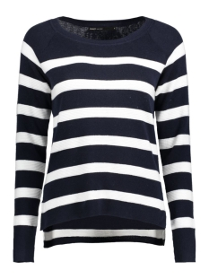 Only Trui onlJAYLA L/S STRIPE PULLOVER KNT 15127707 Night Sky