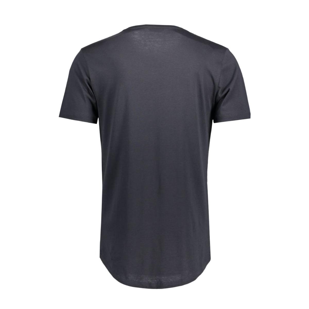 onsmatt longy ss tee noos 22002973 only & sons t-shirt dark navy