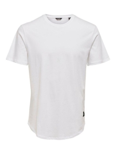Only & Sons T-shirt onsMATT LONGY SS TEE NOOS 22002973 White