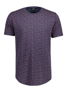 Only & Sons T-shirt onsPERRY FITTED CURVED TEE 22005352 Chill Oil