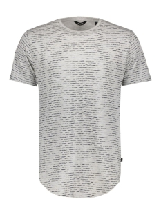 onsPERRY FITTED CURVED TEE 22005352 Light Grey Melange