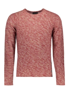 Jack & Jones Trui JORSTAKE KNIT CREW NECK 12118166 Rosewood