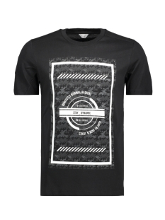 Jack & Jones T-shirt JCOBIKE TEE SS CREW NECK - CAMP 12119124 Black