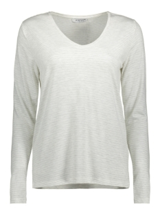 PCBILLO LS TEE NOOS 17078721 Bright White/ Light Grey