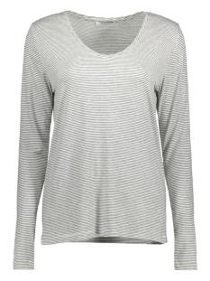 Pieces T-shirt PCBILLO LS TEE NOOS 17078721 Bright White/Black