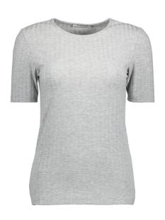 Pieces T-shirt PCAMY SS TOP NOOS 17080994 Light Grey Melange