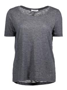 Pieces T-shirt PCMORNIN TEE 17080581 Dark Grey Melange