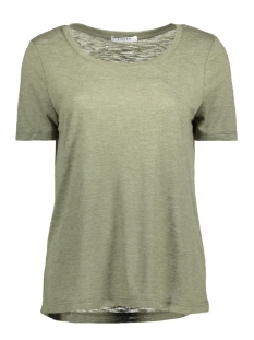 Pieces T-shirt PCMORNIN TEE 17080581 Deep Lichen Green