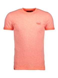 Superdry T-shirt M10011TOFOF3 ZRC WORN ORANGE