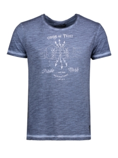 Circle of Trust T-shirt HS17.31.6851 MANSON TEE MIDNIGHT BLUE