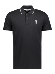 Jack & Jones Polo JCOSTONE POLO SS NOOS 12119176 Black