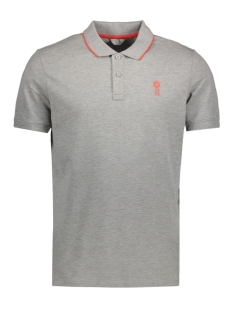 Jack & Jones Polo JCOSTONE POLO SS NOOS 12119176 Light Grey Melange