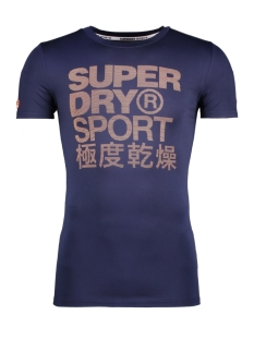 Superdry Sport shirt M10000PO ATHLETIC TEE ADQ NAVY