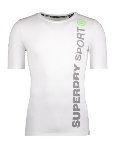 Superdry Sport shirt M10504POF1 ATHLETIC TEE 04C WHITE