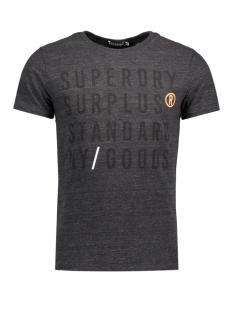 Superdry T-shirt M10008TOF1 GOODS GRAPHIC AL2 GREY GRIT