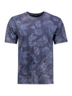 Only & Sons T-shirt onsKRIS WASHED AOP O-NECK EXP Mood Indigo