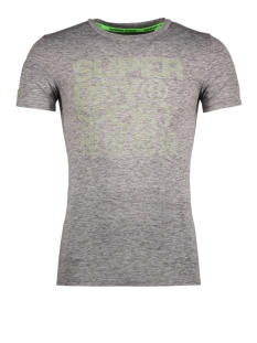 Superdry Sport shirt M10000PO GRAPHIC TEE ZZU STEEL GREY