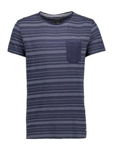 Tom Tailor T-shirt T-Shirt gemustert 1/2 crew-nec 10374816212 6740