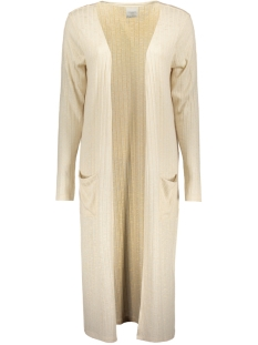 Vero Moda Vest NEW VMNILLE LS LONG OPEN CARDIGAN D 10170117 Oatmeal/ Melange