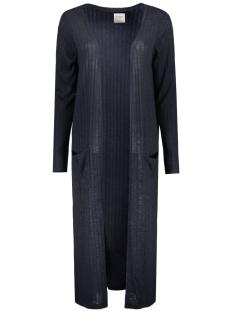 Vero Moda Vest NEW VMNILLE LS LONG OPEN CARDIGAN D 10170117 Navy Blazer/ Melange