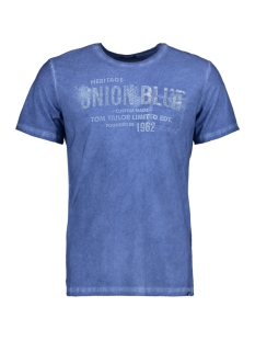 Tom Tailor T-shirt T-Shirt platzierter Druck 1/2 10375286210 6734