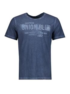 Tom Tailor T-shirt T-Shirt platzierter Druck 1/2 10375286210 6740