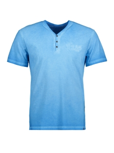 Tom Tailor T-shirt T-Shirt gemustert 1/2 serafino 10375296210 6723