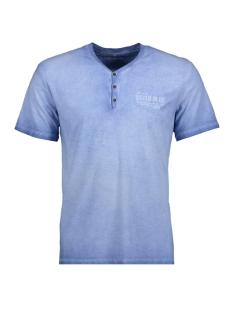 Tom Tailor T-shirt T-Shirt gemustert 1/2 serafino 10375296210 6734