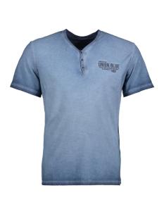 Tom Tailor T-shirt T-Shirt gemustert 1/2 serafino 10375296210 6740