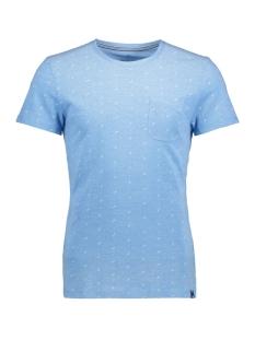 Tom Tailor T-shirt T-Shirt gemustert 1/2 crew-nec 10375306210 6723