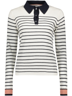 Vila Trui VIKAKTANA STRIPE TOP 14038447 CLOUD DANCER