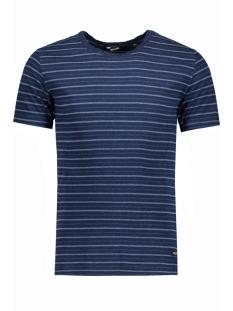 Only & Sons T-shirt onsINDIGO JACQ O-NECK EXP 22006789 Dark Blue Denim