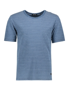 Only & Sons T-shirt onsINDIGO JACQ O-NECK EXP 22006789 Light Blue Denim