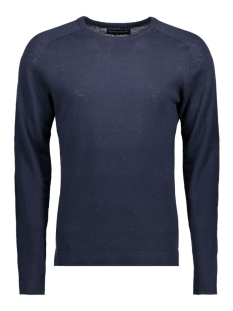Jack & Jones Trui JPRIBE KNIT CREW NECK NOOS 12120133 Navy Blazer