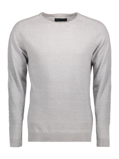Jack & Jones Trui JPRIBE KNIT CREW NECK NOOS 12120133 Cool Grey/Melange