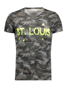 Key Largo T-shirt MT00020 ST LOUIS 1107 SILVER