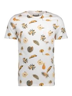 Jack & Jones T-shirt JORFUNKY TEE SS CREW NECK 12121438 White/Slim
