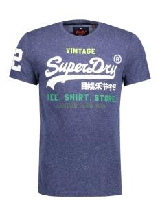 Superdry T-shirt M10040ANF1 SHIRT SHOP TEE Navy Snow
