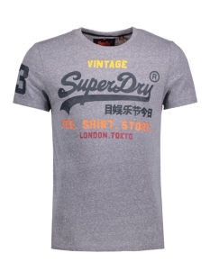 Superdry T-shirt M10040ANF1 SHIRT SHOP TEE A17 Blue Snow